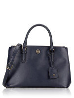 TORY BURCH Robinson Double Zip Tote Navy