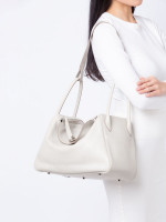 HERMES Swift Lindy 34 Griss Perle