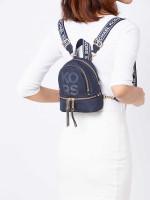 MICHAEL KORS Rhea Mesh XS Zip Backpack Admiral Optic White