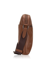 COACH Men 68014 Houston Leather Flight Bag Saddle