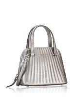 KATE SPADE Patterson Drive Quilted Mini Dome Satchel Anthracite