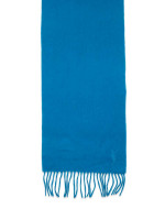 YSL Merino Wool Cashmere Scarf Ocean