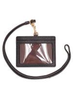 COACH 67652 Crossgrain Sideways Style ID Lanyard Black