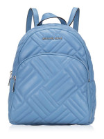 MICHAEL KORS Abbey Medium Quilted Leather Backpack French Blue