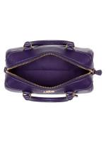 COACH 32202 Crossgrain Mini Bennett Satchel Dark Purple