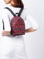 COACH 39030 Deer Spot Mini Charlie Backpack Raspberry