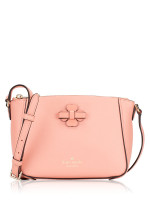 KATE SPADE Talia Leather Zip Crossbody Peach Rose
