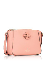 KATE SPADE Talia Leather Zip Crossbody Peach Rose