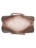 MICHAEL KORS Travel Signature Large Duffle Bag Brown Luggage