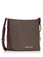 MICHAEL KORS Kimberly Signature Small Bucket Bag Merlot