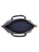 COACH 31466 Pebbled Leather Mini Ema Satchel Midnight