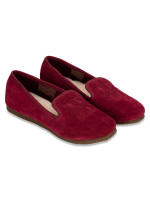 TORY BURCH Quilted Suede Cowley Slipper Port Royal Sz 7