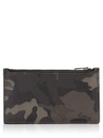COACH Men 77930 Zip Card Case Camo Green Multi