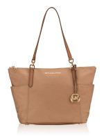 MICHAEL KORS Bedford Nylon Large Top Zip Tote Dark Khaki