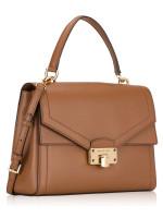 MICHAEL KORS Kinsley Large Leather Top Handle Satchel Luggage