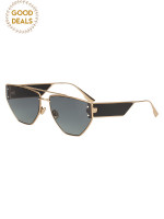 DIOR 0J5G/1 Clan 2 Sunglasses Gold Black Gradient