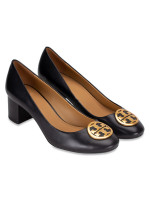 TORY BURCH Benton Leather Pump Black Sz 10.5