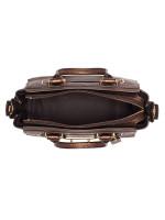 COACH 23197 Metallic Swagger 27 Leather Satchel Bronze