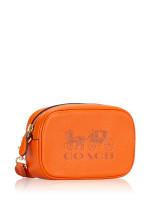 COACH F79212 Pebble Leather Jes Convertible Belt Bag Dark Orange