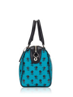 COACH 38160 Badlands Floral Mini Bennett Turquoise Black