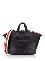 GIVENCHY Leather Medium Nightingale Black