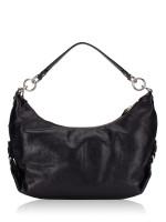 COACH 14304 Madison Hailey Leather Bag Black