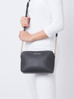 MICHAEL KORS Jet Set Item Large Crossbody Black