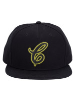 COACH 38892 Neon Flat Brim Hat Black