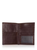 FOSSIL SML1397201 Lufkin Passport Dark Brown