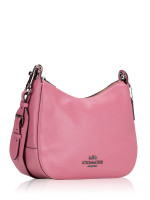 COACH 76695 Jes Leather Hobo Pink Rose