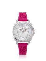 COACH 14503145 Boyfriend Rubber Strap Pink
