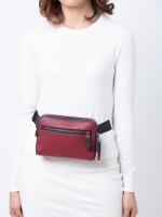 COACH 72506 West Leather Belt Bag Currant