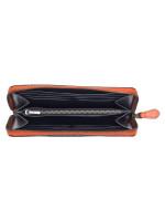 COACH Men 78202 Signature Accordion Colorblock Wallet Charcoal Blue Multi