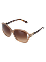 COACH L1033 Integration Flower Sunglasses Light Brown