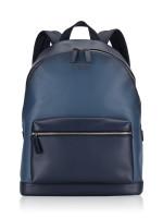 MICHAEL KORS Harrison Leather Backpack Vintage Indigo Navy