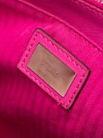 FENDI Petite 2 Jours Vitello Elite Flamingo Magenta