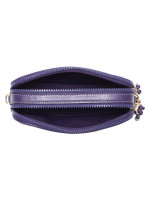 COACH 84639 Horse And Carriage Print Crossbody Dark Purple Lavender