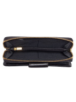 FOSSIL SWL2228001 Madison Zip Wallet Black