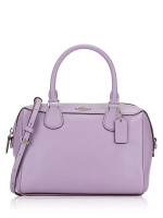 COACH 32202 Crossgrain Mini Bennett Satchel Lilac