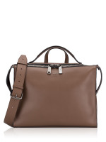 FENDI Men Vitello Grace Urban Briefcase Brown