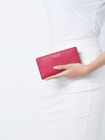 KATE SPADE Cameron Large Slim Bifold Wallet Rosso