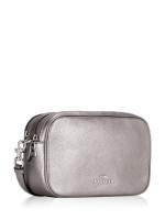 COACH 67406 Metallic Pebbled Leather Jes Crossbody Gunmetal