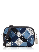 COACH 72761 Americana Patchwork Jes Crossbody Denim Multi