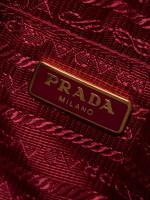 PRADA 1N1674 Saffiano Mini Camera Bag Peonia