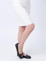 MICHAEL KORS Lillie Leather Flats Black Silver Sz 7.5
