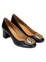 TORY BURCH Benton Leather Pump Black Sz 7.5