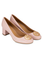 TORY BURCH Benton Leather Pump Sea Shell Pink Sz 7