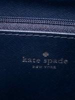 KATE SPADE Eva Leather Large Bucket Bag Blue Dawn Blazer Blue