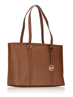 MICHAEL KORS Sady Saffiano Large Multifunction Zip Tote Luggage