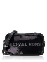MICHAEL KORS Kenly Logo Small Camera Crossbody Black Multi